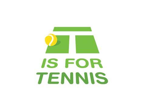 Logo Tenis t is for tennis logo tennis and logos