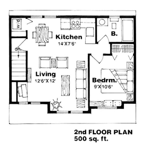 One Story Garage Apartment Floor Plans by Garage Plan 94340 At Familyhomeplans Com