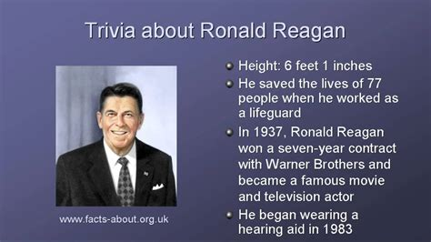 biography facts president ronald reagan biography youtube