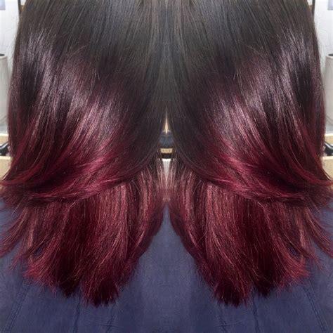 mahogany curls ombre mahogany ombr 233 hair inspiration pinterest