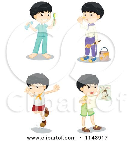 how to get ready for bed getting ready clipart clipart kid