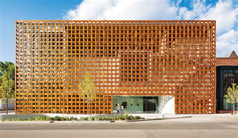 A Frame Home Interiors a closer look high tech wood facade by shigeru ban