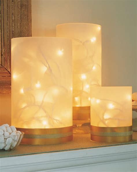 easy diy night light attractive homemade christmas ideas home designing