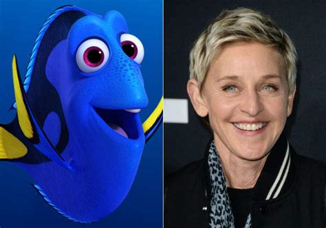 ellen degeneres cast finding dory may feature pixar s first lesbian couple