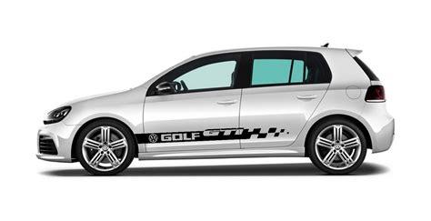 Sticker Vw Golf 5 by Golf 5 Gti Stickers Satu Sticker