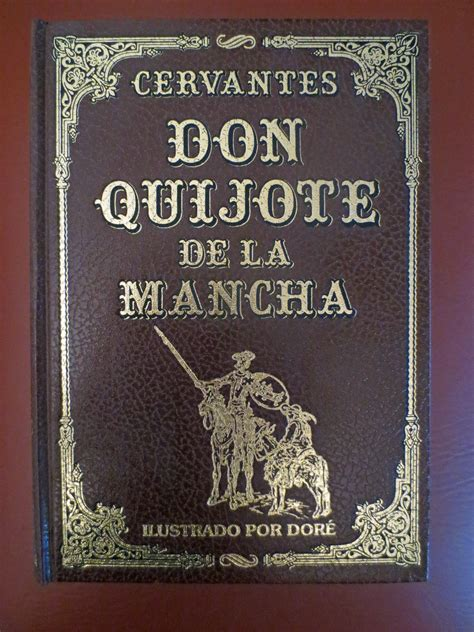 original book with pictures authors miguel de cervantes don quijote de la mancha