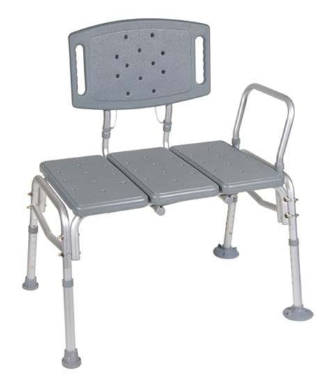 drive shower bench drive 12025kd 1 bariatric hd bath transfer bench 500 lb ebay