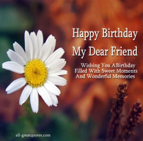 Happy Birthday Wishes For A Friend Happy Birthday Quotes Free Large Images
