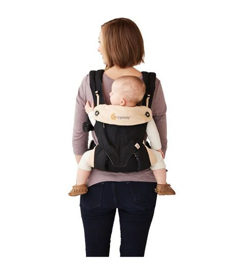 Ergobaby Four Position 360 Carrier Blackcamel ergobaby four position 360 carrier black camel