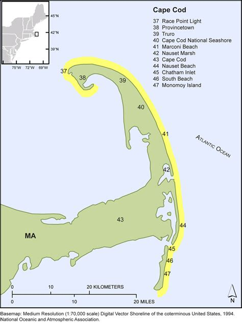 cape cod ma zip code usgs ofr 2010 1119 the national assessment of shoreline