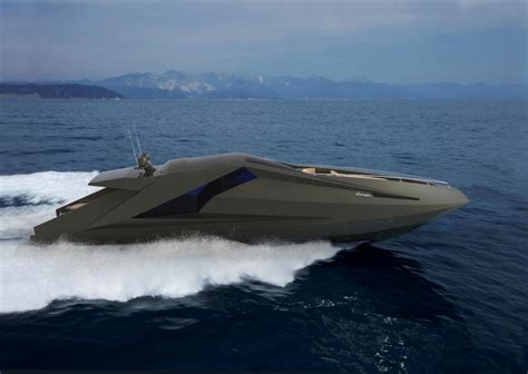 the lamborghini boat lamborghini concept yacht