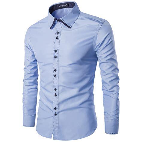 pattern business shirt popular mens office shirts long sleeve buy cheap mens