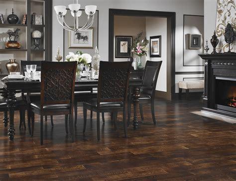 classic chic home living with dark hardwood floors diy end grain butcher block countertops designs