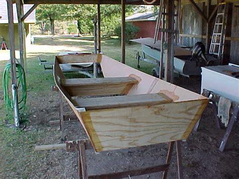 jon boat homemade homemade plywood jon boat www pixshark images