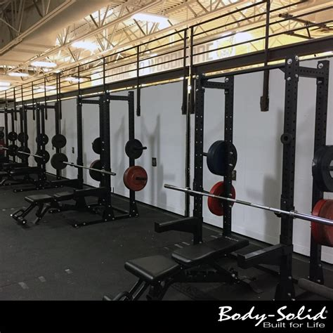 benches elmore ohio work harder woodmore high school adds body solid to