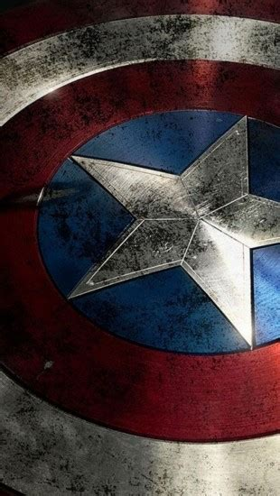 captain america shield  iphone wallpapers
