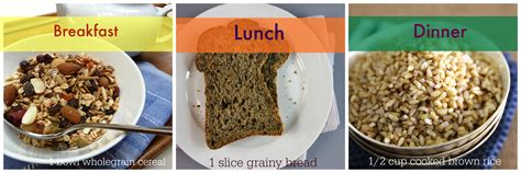 meals with whole grains how much whole grain should you eat catherine saxelby