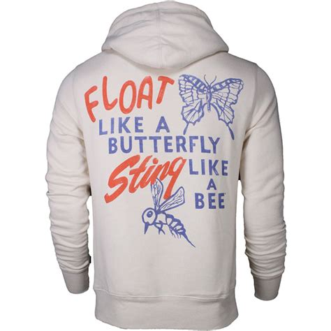 Hoodie Muhammad Ali Fightmerch 2 roots of fight muhammad ali stinger pullover hoodie