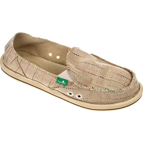 sanuk donna slip on shoe s evo outlet