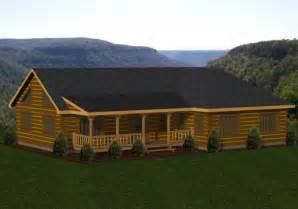one story log homes single story log homes floor plans kits battle creek