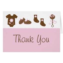 baby shower thank you postcards baby shower thank you cards zazzle