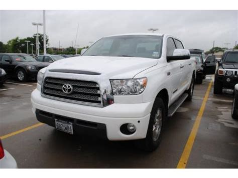 Used Toyota Tundra Crewmax 4x4 For Sale Used 2007 Toyota Tundra Limited Crewmax 4x4 For Sale
