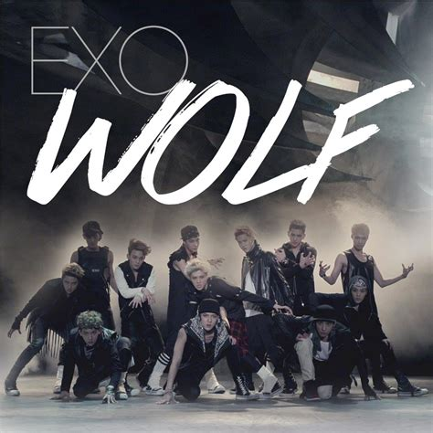 exo album exo what is love exo wolf album cover by xulikken on