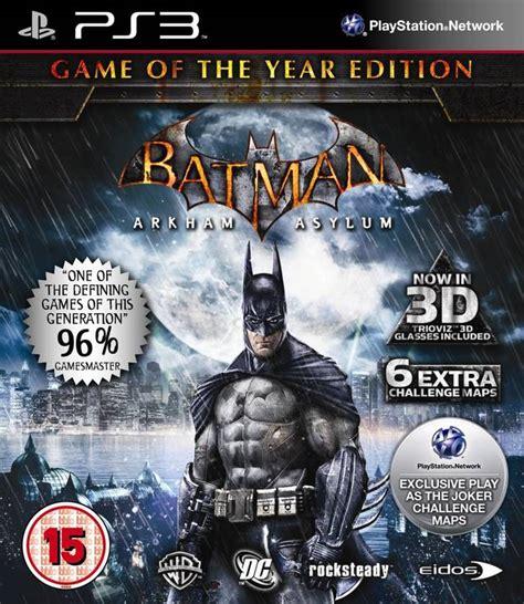 Termurah Batman Arkham Of The Year Ps4 batman arkham asylum box for playstation 3 gamefaqs