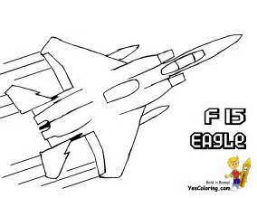 mighty military airplane coloring fighter jets free