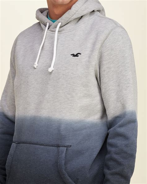 Lyst - Hollister Iconic Dyed Hoodie in Gray for Men Hollister Sweaters For Girls Grey