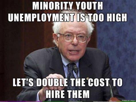 Anti Bernie Sanders Memes - hilarious bernie sanders meme shows how crazy he really is