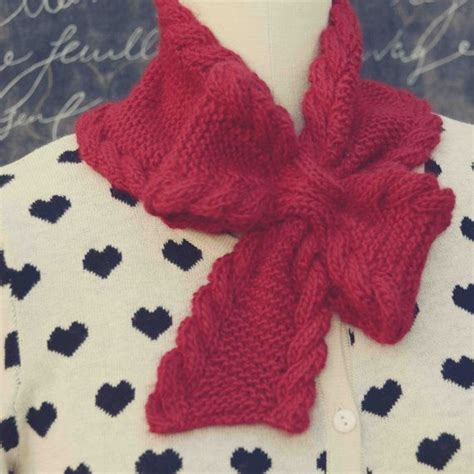 knitting pattern bow tie scarf best photos of ascot tie pattern bow tie knit pattern