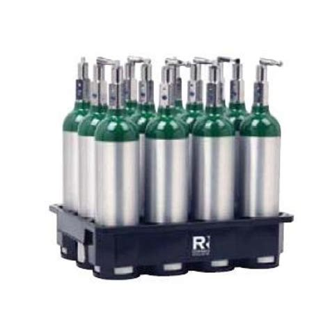 high purity compressed gas cylinder lng acetylene storage cylinder 8 cylinder plastic rack for m6 oxygen cylinders