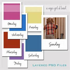 week psd template for cards best 25 photo journal ideas on photo album