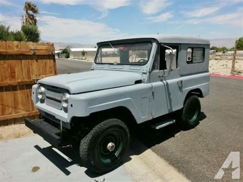 1967 nissan patrol parts 1967 nissan patrol 4x4 not toyota removable top very
