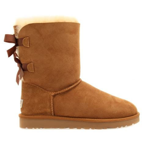 buy ugg 174 womens chestnut bailey bow boots at hurleys
