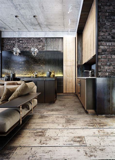industrial style 3 modern bachelor apartment design industrial style 3 modern bachelor apartment design