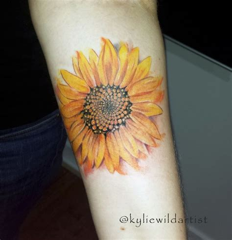 watercolor sunflower tattoo 25 best ideas about western tattoos on