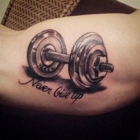 fitness tattoos similar to this but i want it to say quot be stronger than