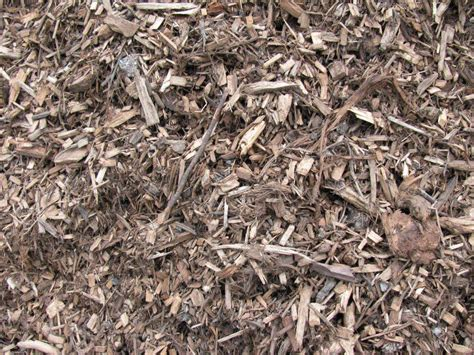 bark mulches