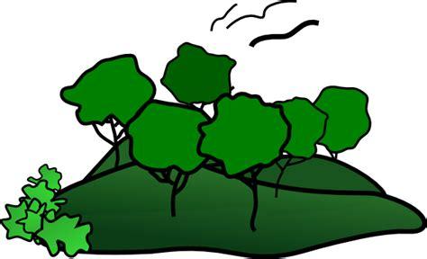 Landscape Clipart Landscape Mountain Trees Clip At Clker Vector