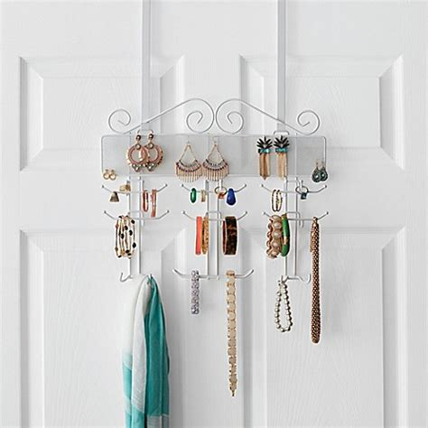 bed bath and beyond jewelry organizer over the door jewelry organizer bed bath beyond