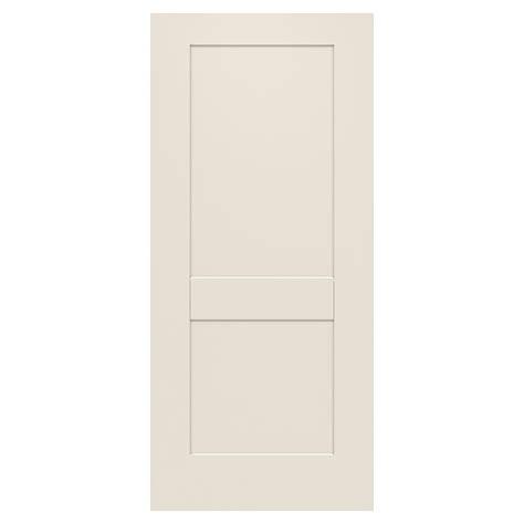 36 X 79 Exterior Door Jeld Wen 36 In X 79 In 2 Panel Craftsman Primed Steel Front Door Slab Thdjw166100390 The