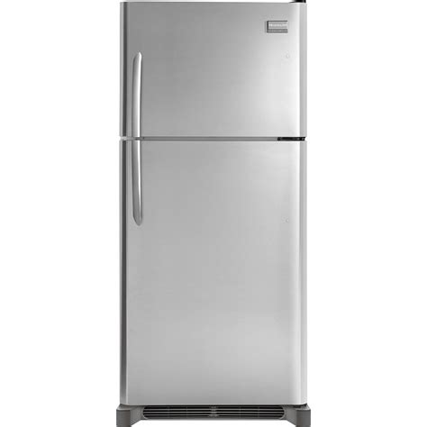 shop frigidaire gallery 18 1 cu ft top freezer