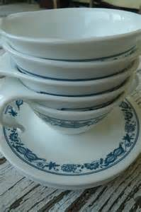 Corningware Corelle Corningware Corelle Cup And Saucer Set Old Towne By Cozystudio