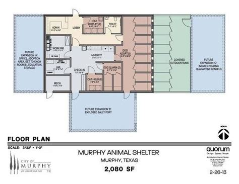floor plans for animal shelters images animal