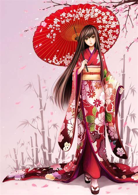 imagenes anime kimono 116 best anime kimono images on pinterest anime kimono