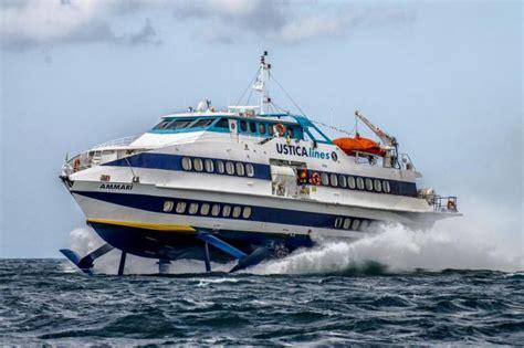 mari e venti porto empedocle alla ustica lines sono stati affidati i collegamenti con