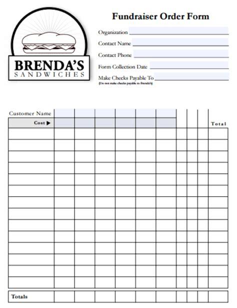 fundraiser order form templates website wordpress blog