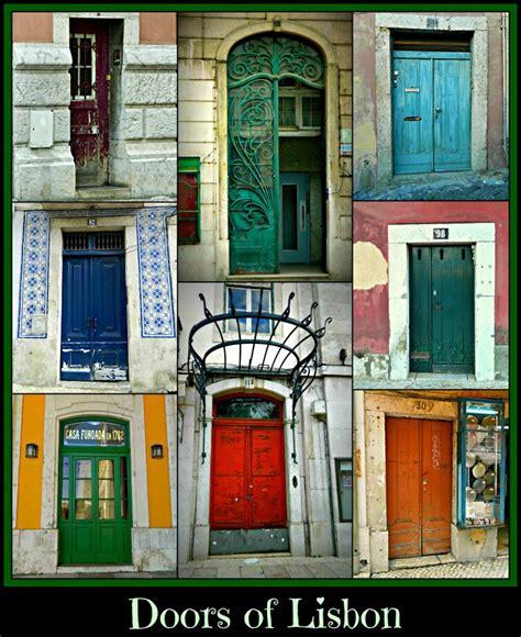Lisbon And Door by Doors Of Lisbon By Shuckaby On Deviantart
